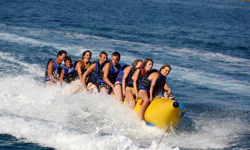 BANANA BOAT Enjoy Tubing in Tropea, Italy