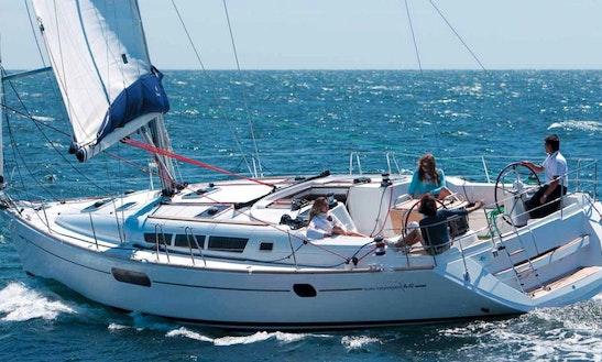 Charter 44' Sun Odyssey Cruising Monohull In Lefkada, Greece