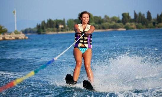Enjoy Water Skiing In Kuta Selatan, Bali