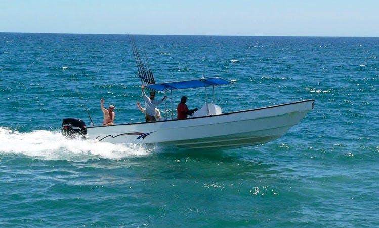 29' Center Console Deluxe Super Panga Fishing Charter in Loreto, Mexico