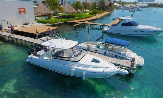 Intrepid 36 Ft Deck Boat Rental In Cancún