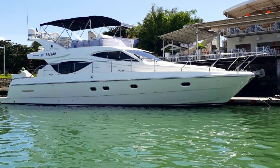 Take 15 people out on this Motor Yacht Charter in Subic Bay Freeport Zone