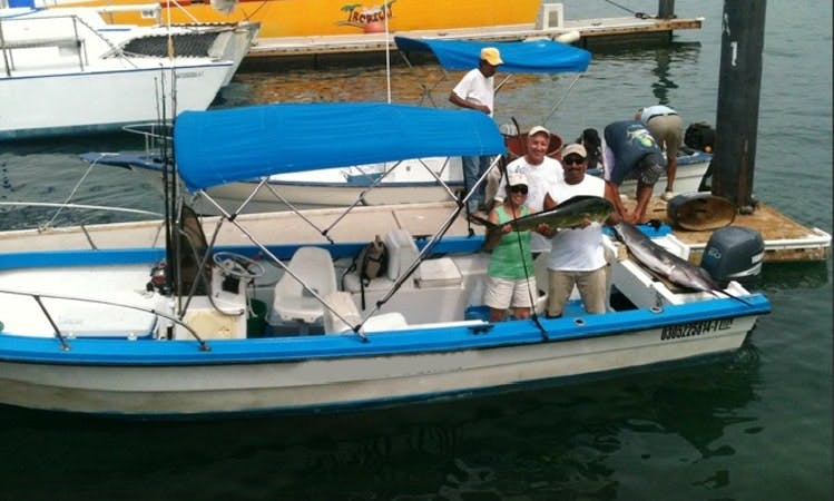 """Cabo San Lucas Fishing Charter On 24' """"Sushi Time 1"""" Center Console"""