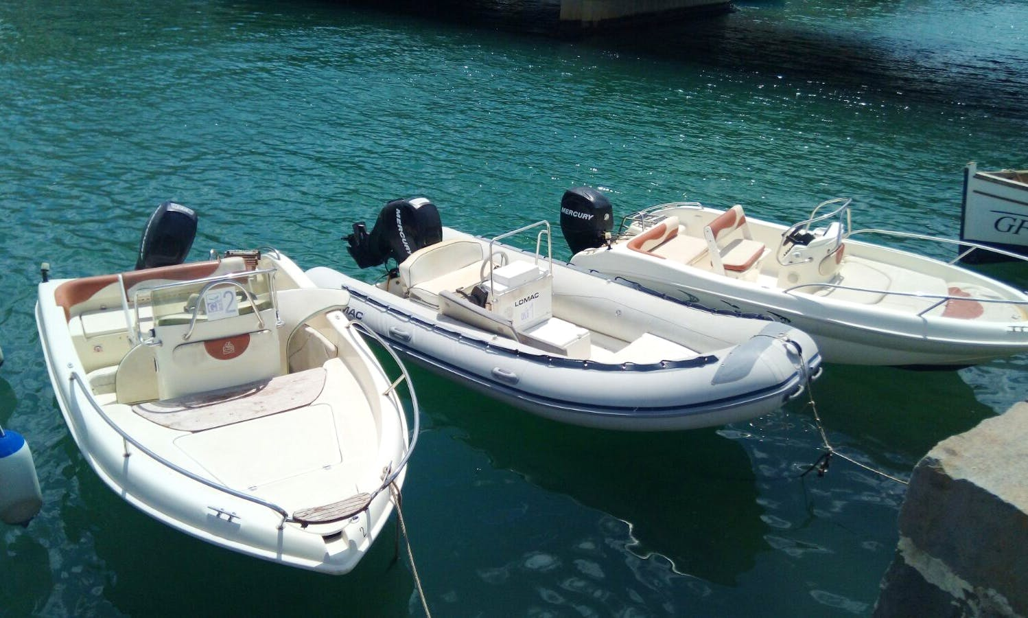 Rent a Dinghy or a Boat in Syracuse, Italy
