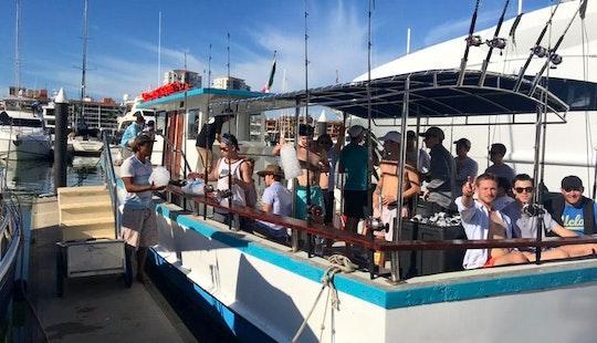 Sunset And Fishing Charter In Puerto Vallarta
