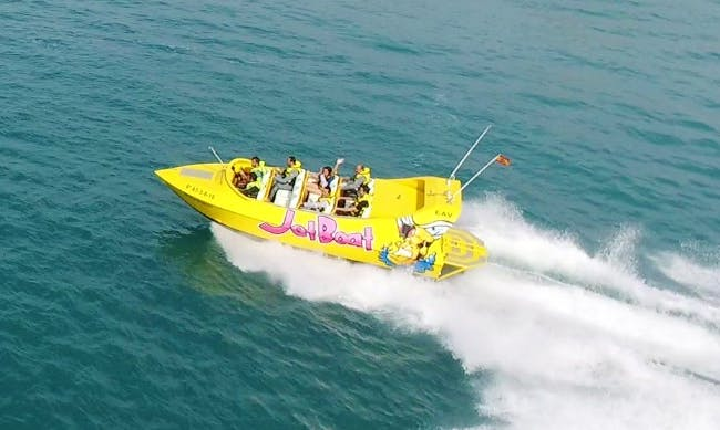 Enjoy a Jet Boat Tours in Altea, Spain