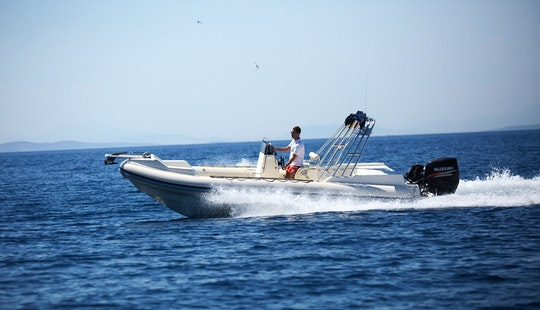 Great White 7.5m Rigid Inflatable Boat In Anavissos, Greece