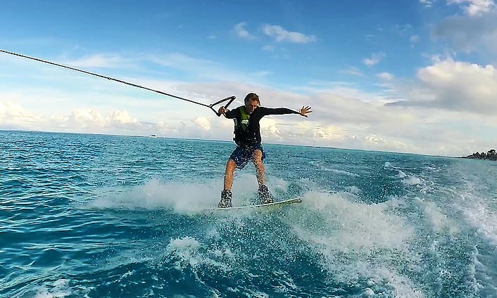 Wakeboarding Lessons In Vaitape, French Polynesia