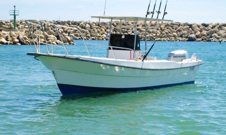 Amazing 26' Fishing Charter in San José del Cabo, Mexico for up to 3 persons