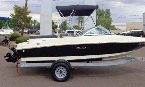 "WOW Rent Sea Ray 17'6"" Sport Bowrider Sterndrive on Grand Lake, Shadow Mountain Lake, or Lake Granby, Colorado L@@K !"