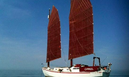 Chinese Junk-rigged Schooner Bed And Breakfast, Arguineguin, Gran Canaria