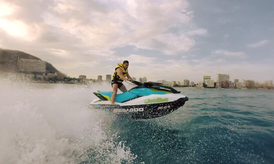30 min, 1 hours or 2 hours Jet Ski Excursions!