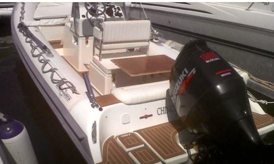 Deck Boat In Cap Martinet