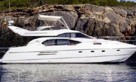 Charter A 52ft Power Mega Yacht In Ibiza, Spain For 10 Friends!