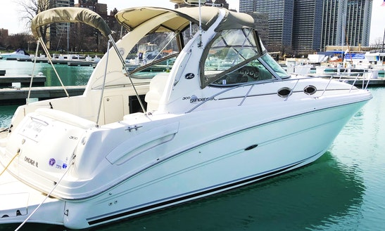 33' Captained Yacht Charter In Chicago!
