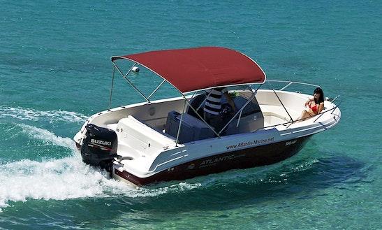 Deck Boat For Rent In Zadar