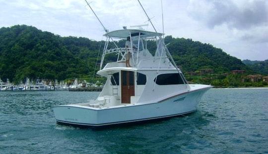 43' Sport Fisherman Yacht In Herradura