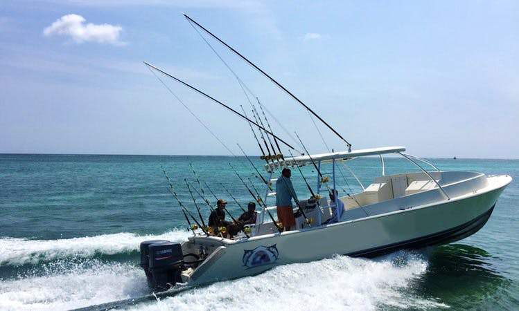 Half Day to Full Day Deep Sea Fishing Trip in San Pedro, Belize