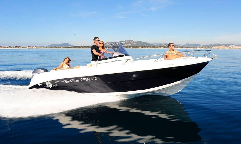 """AGATA"" Pacific Craft 670 Open rental in Eivissa"