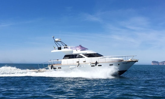 Charter 46' Venus Motor Yacht In Alghero, Italy
