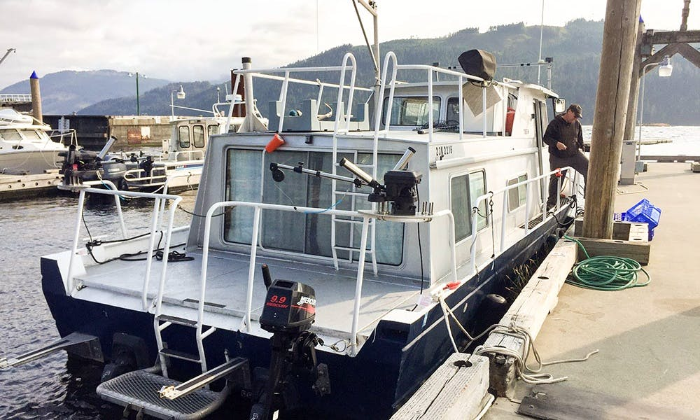"Enjoy Fishing On 37ft ""Tiburon"" Trawler In Winters Harbour, Canada"