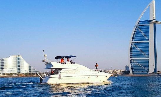55 Feet Luxury Yacht For 15 Pax Dubai Jumeirah