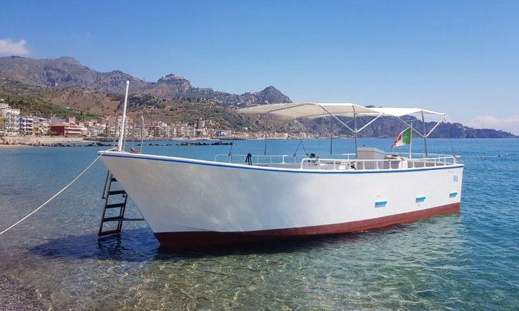 Enjoy center console in giardini naxos italy getmyboat