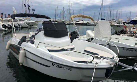 21' Flyer Space & Sun Tonik & Eros Boat Rental In Sant Feliu De Guíxols, Spain