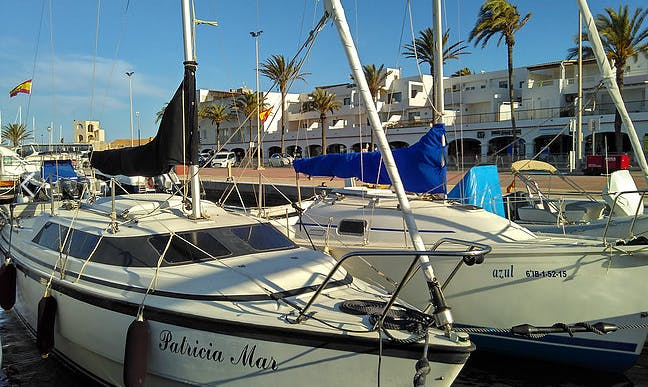 Rent 26' Mac Gregor Cruising Monohull in La Savina, Spain