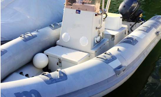 Enjoy Fishing In Macomer, Italy On A Rigid Inflatable Boat