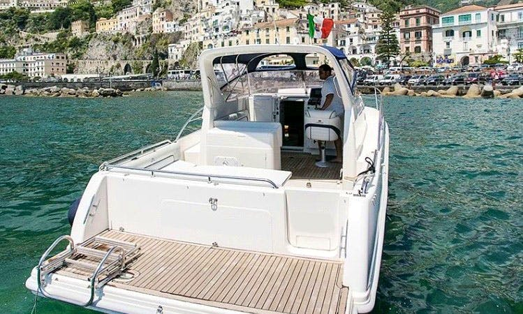 Cruising in amalfi on this amazing faeton 980 sport