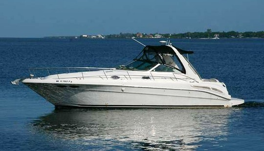 Beautiful Sea Ray Sundancer 35 Feet With Plenty Of Room And Sound System