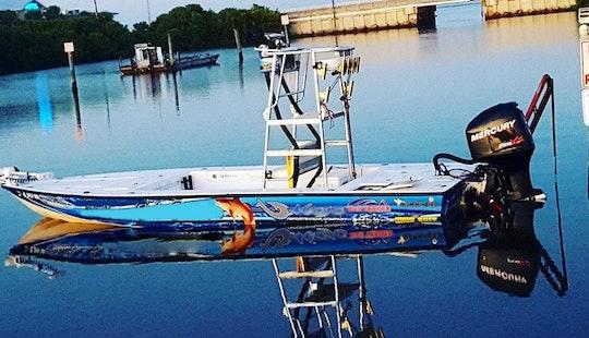 Center Console Fishing Trips In Cedar Key, Florida