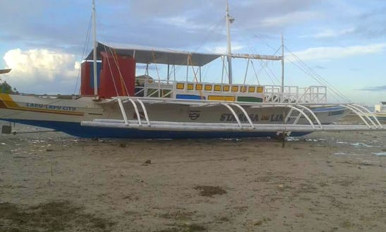 Traditional Paraw Boat In Mandaue City