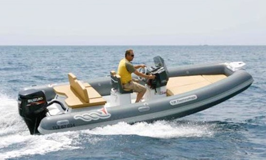 Charter 18' Mv Marine 18 Tech-115 Cv Rigid Inflatable Boat In Salerno, Italy