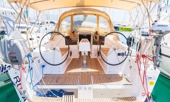 Charter Dufour 382 Grand Large - Ruza Cruising Monohull In Rogoznica, Croatia