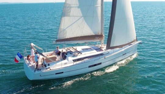 Charter Dufour 512 Grand Large - Staccato Cruising Monohull In Rogoznica, Croatia