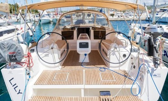Charter Dufour 410 Grand Large - Lily Cruising Monohull In Rogoznica, Croatia