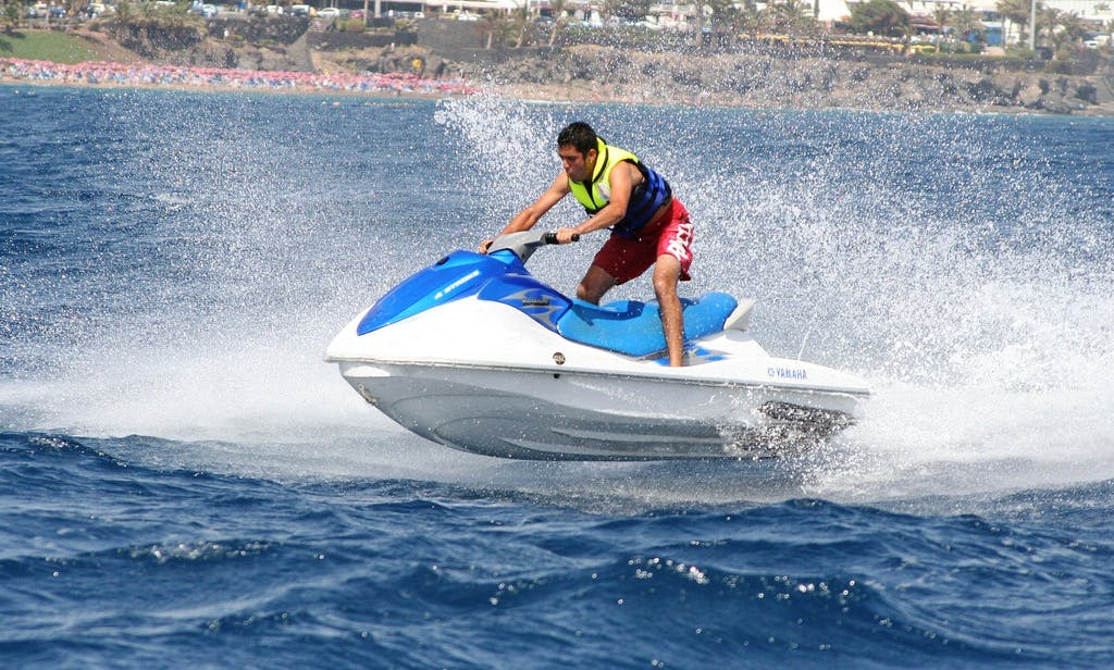 Rent a Jet Ski in Tías, Spain
