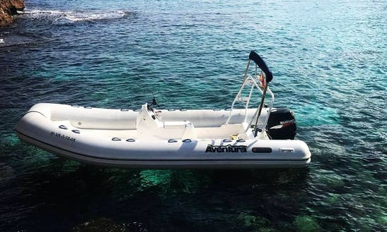 Rent Apex A20 115 Hp Rigid Inflatable Boat In Sant Joan De Labritja, Spain