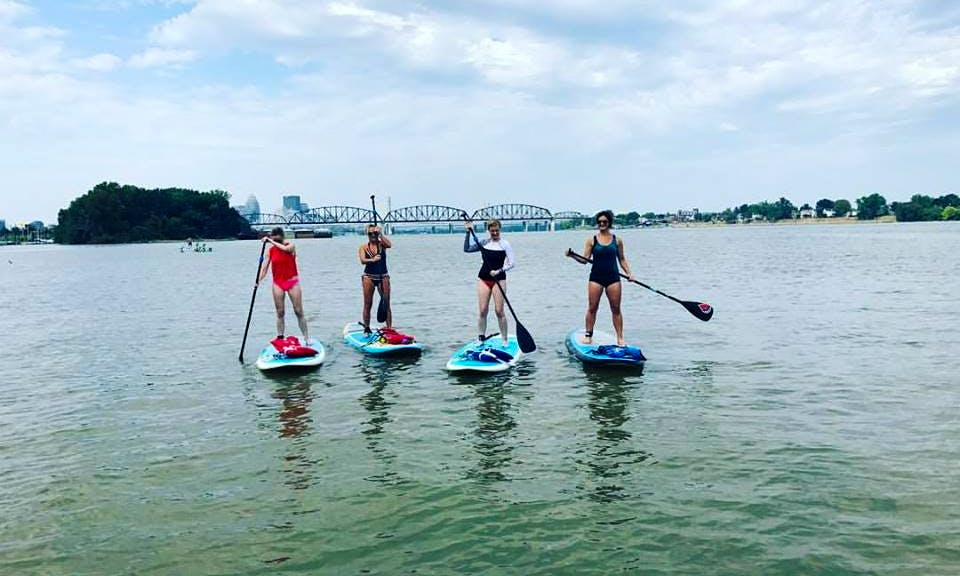 SUP In Louisville, Kentucky