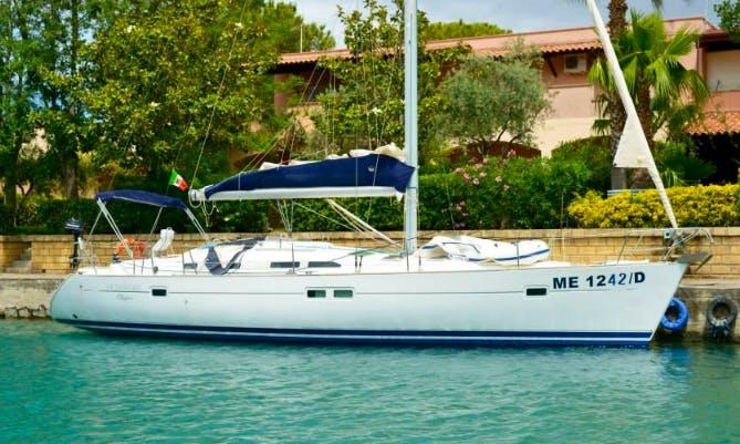 Charter Beneteau Oceanis 423 Cruising Monohull in Messina, Italy