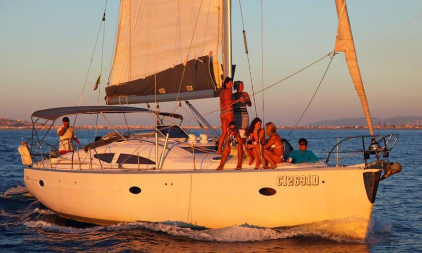 Charter Elan 434 Impression Cruising Monohull in Messina, Italy