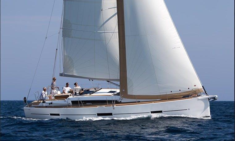 Charter 46' Dufour 460 Cruising Monohull in Messina, Italy
