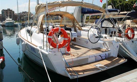 Charter 37' Dufour 382 Cruising Monohull In Messina, Italy