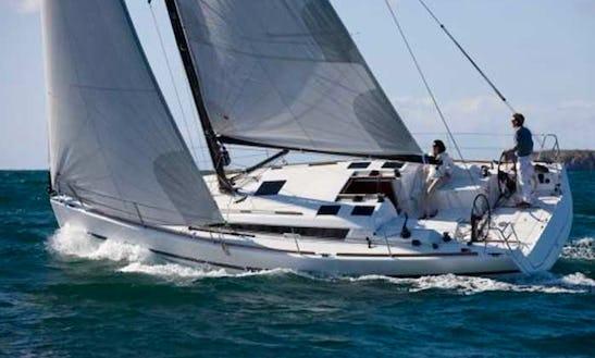 Charter 36' Dufour 360 Cruising Monohull In Messina, Italy