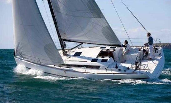 Charter 36' Dufour 360 Cruising Monohull In Messina, Italy