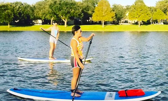 Enjoy Stand Up Paddleboarding In Sugar Land, Texas
