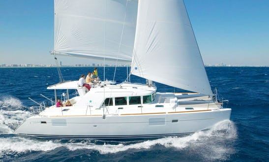 Charter 45' Lagoon 440 Cruising Catamaran In Messina, Italy