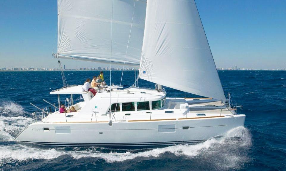 Charter 45' Lagoon 440 Cruising Catamaran in Messina, Italy